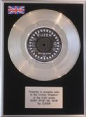 "QUEEN - 7"" Platinum Disc - DON'T STOP ME NOW"